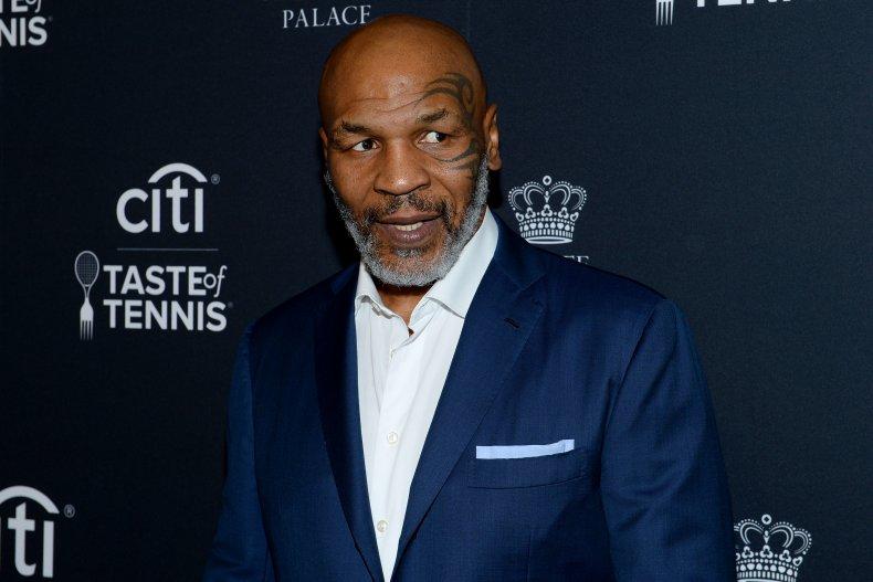 Mike Tyson in 2019