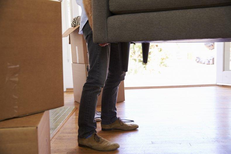Sofa dropped on woman in Aberdeen