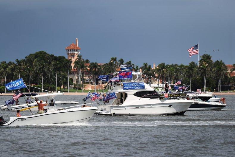 trump boat parade florida