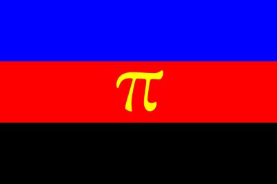 The polyamorous pride flag.