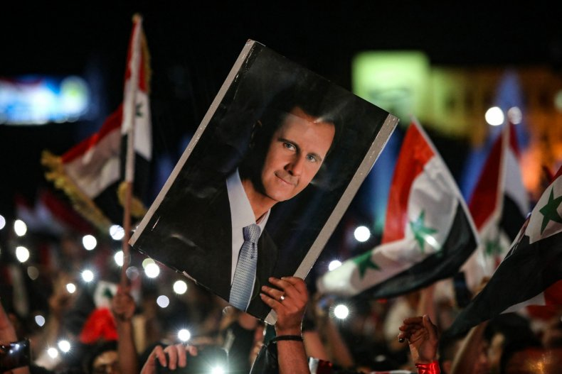 Syria Bashar Assad World Health Organization
