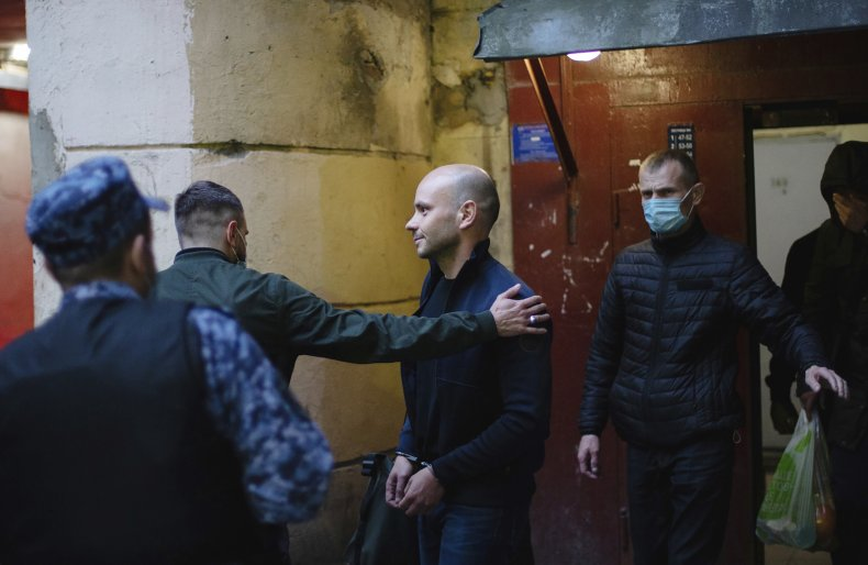 Andrei Pivovarov Pulled Off Plane