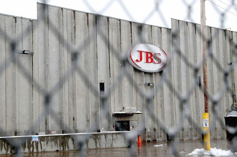 jbs usa cyberattack meat plant america