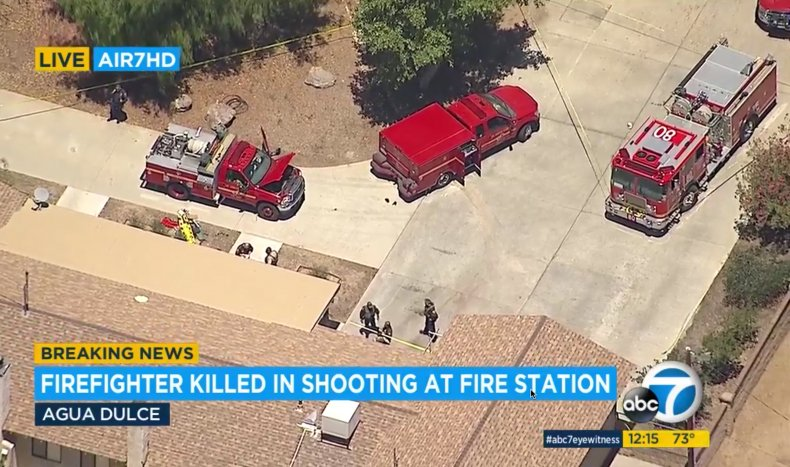 Acton CA House Fire Shooting 5