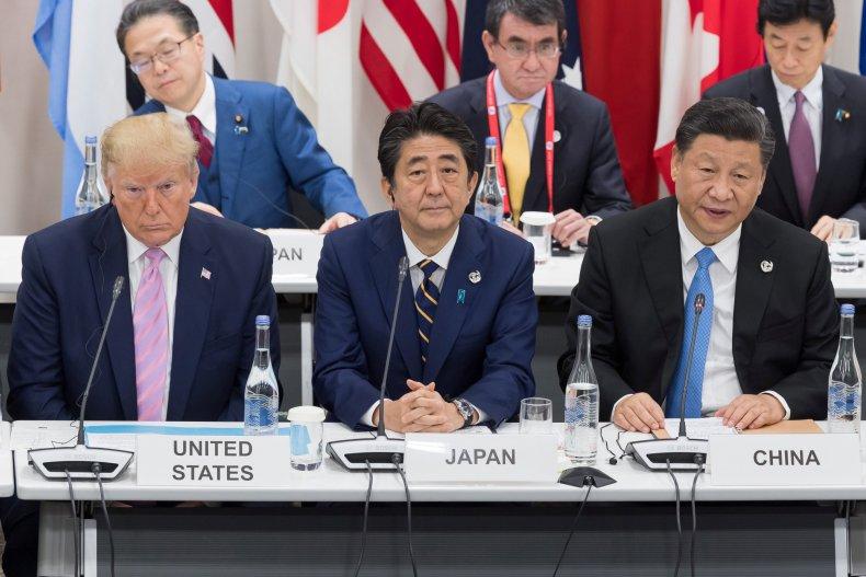 Trump, Abe, Xi, attend, G20, Osaka, 2019