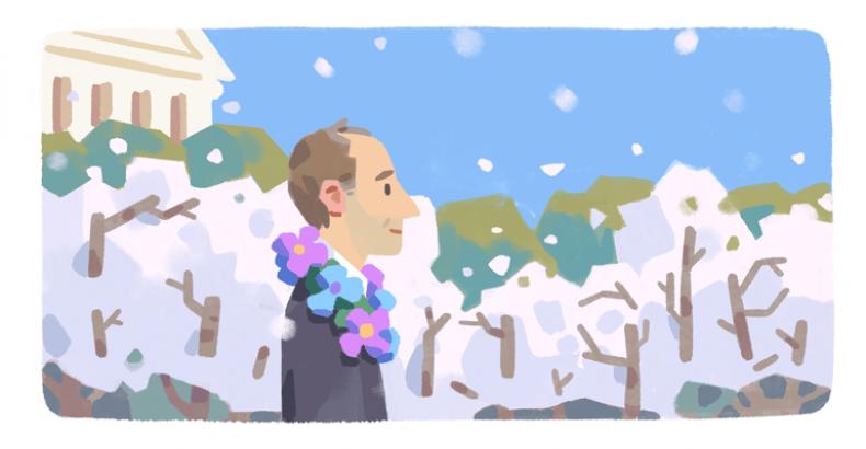 Dr. Frank Kameny Google Doodle