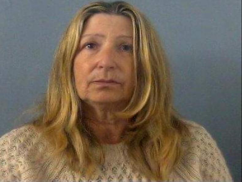 Lynda Rickard in Thames Valley Police custody