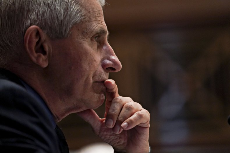 Anthony Fauci Attends Hearing In Congress