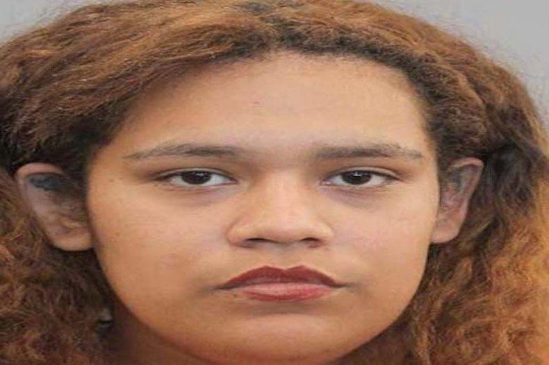 Angelia Mia Vargas in Houston police custody