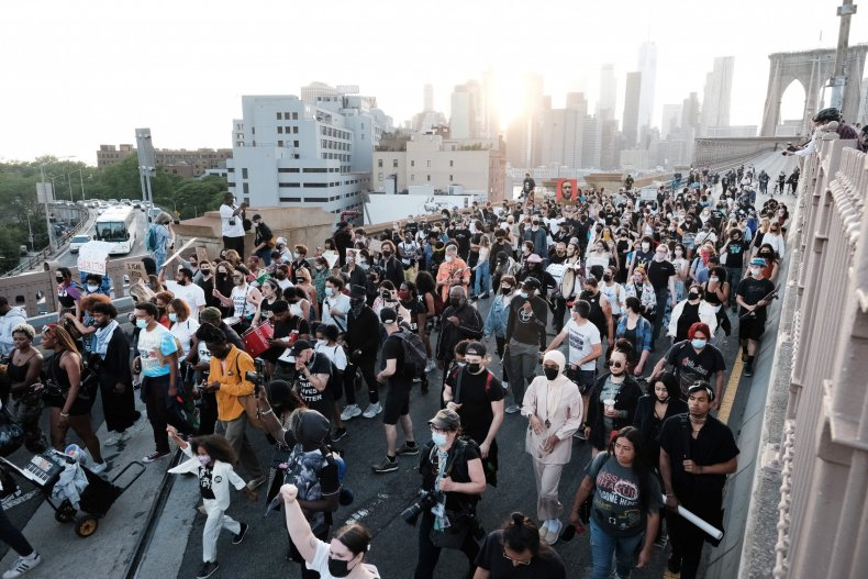 rallies held on george floyd anniversary