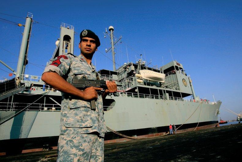 Iran Kharg navy ship