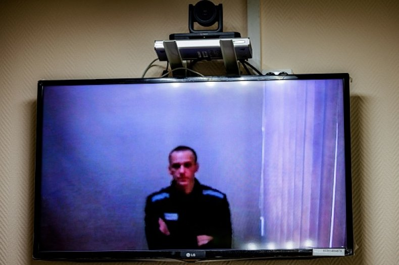 Alexei Navalny Russian Prison Torture Judge Rules