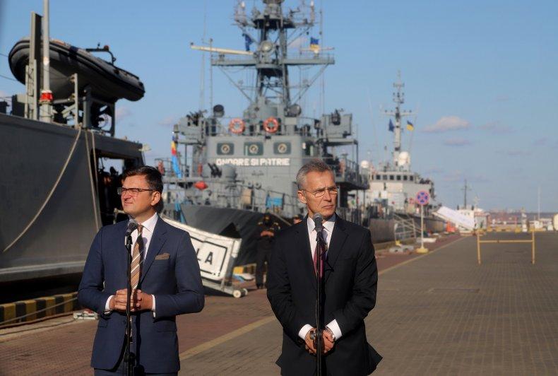 UKRAINE-NATO-POLITICS-DEFENCE