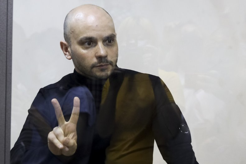 Andrei Pivovarov At Court Session for Arrest