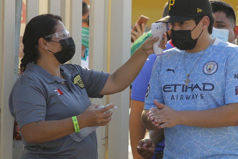 Body Temperature COVID-19 Protocol in Mexico
