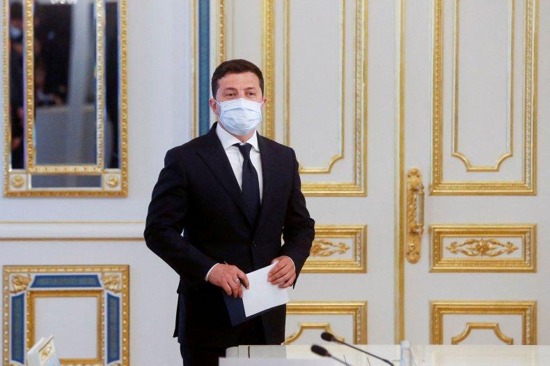 Volodymyr Zelensky UNited States