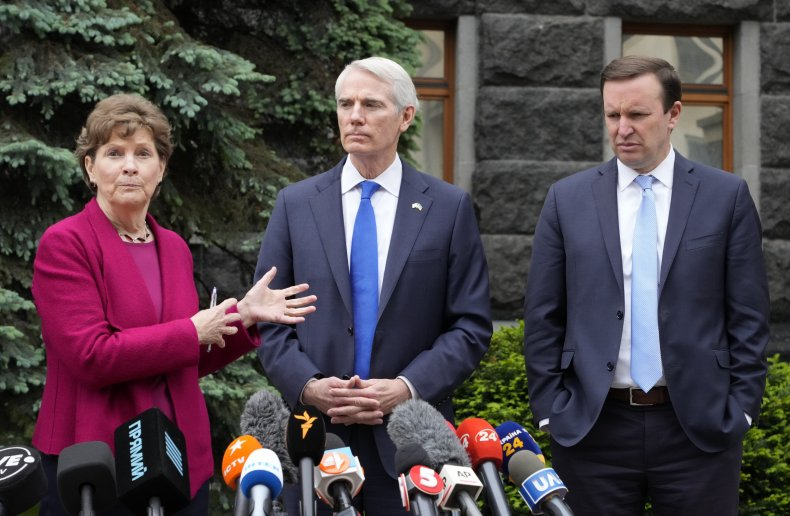 U.S. Senators Meeting Ukraine