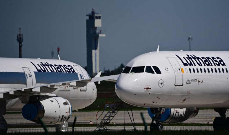 GERMANY-AIRPORT-TRAVEL