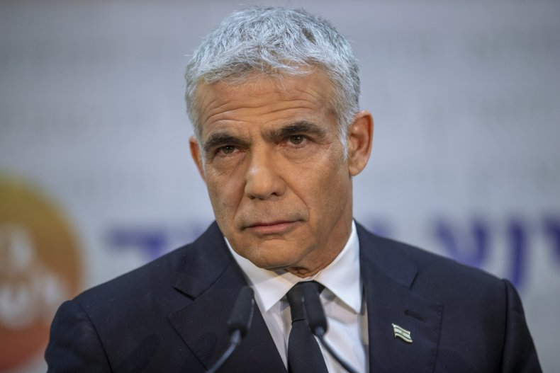 Lapid news conference