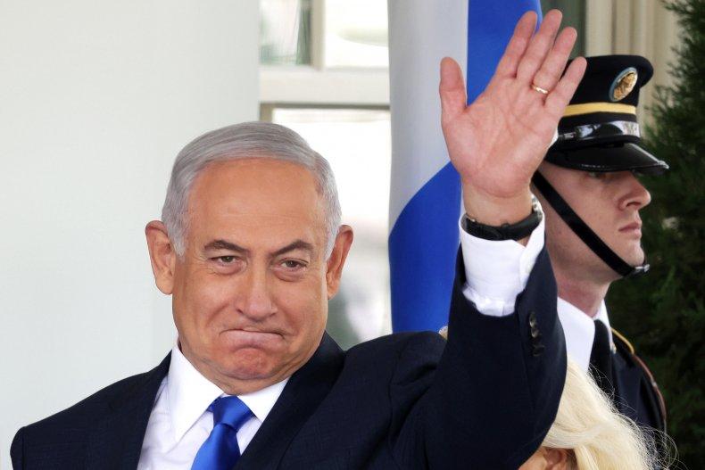 Bibi waves goodbye