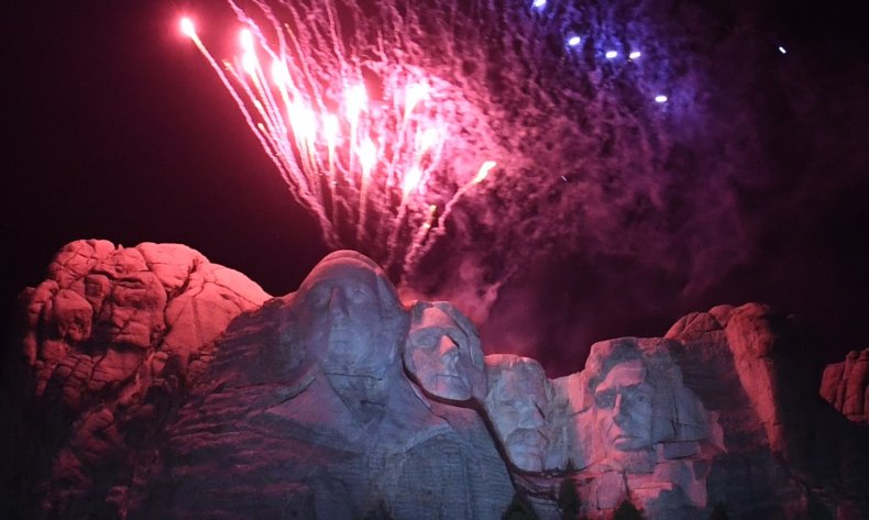 Noem appeal Biden court fireworks ban Rushmore
