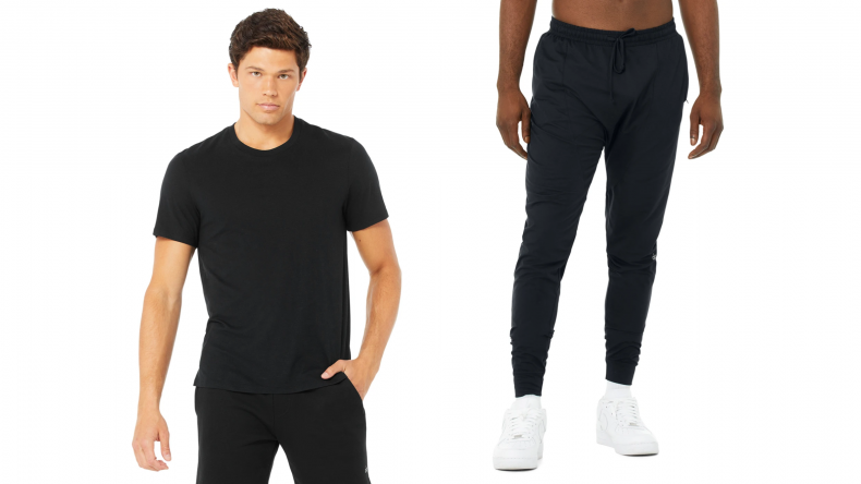 Airwave Tee paired with the Revitalize Pant