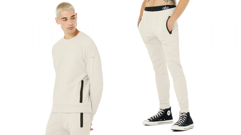 Impel Sweatshirt paired with the Impel Sweatpant