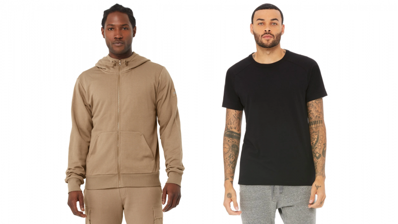 Central Hoodie and Triumph Crew Neck Tee