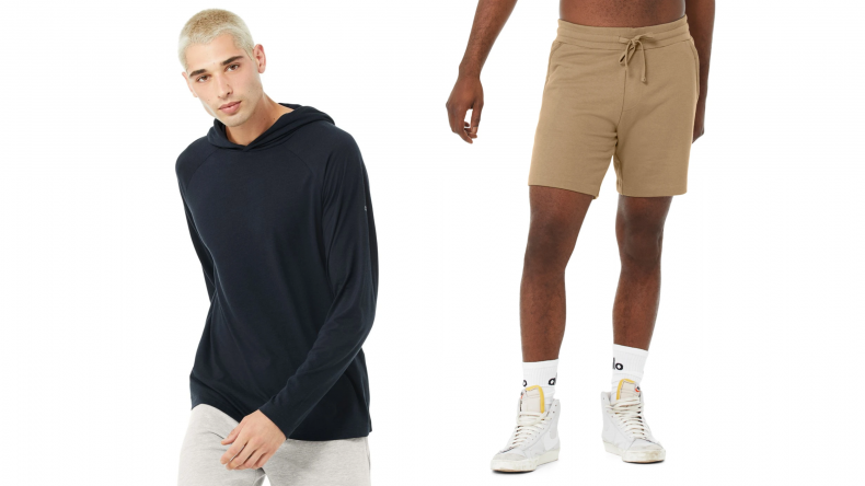 Core Hooded Runner and Chill Short