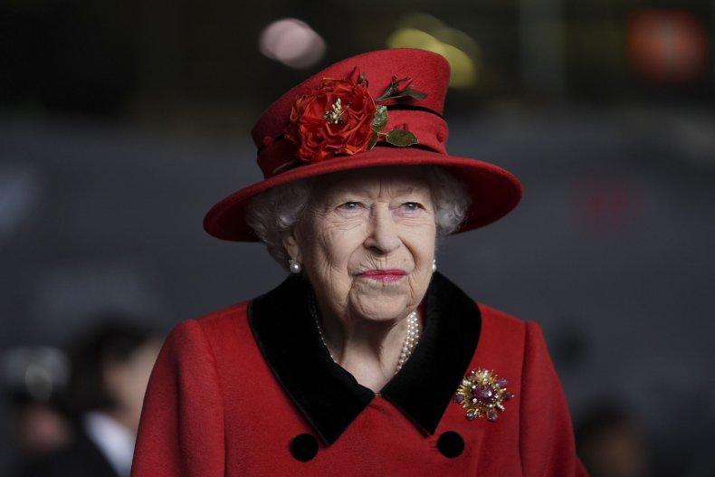 Queen Visits HMS Queen Elizabeth