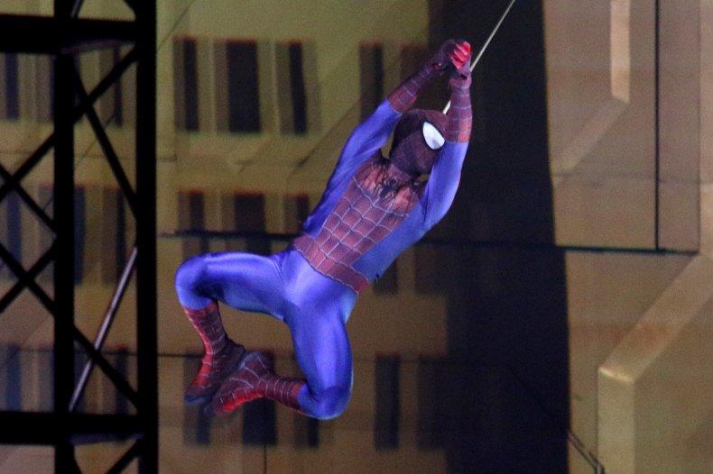 Avengers Campus unveils Spider-Man stunt robot