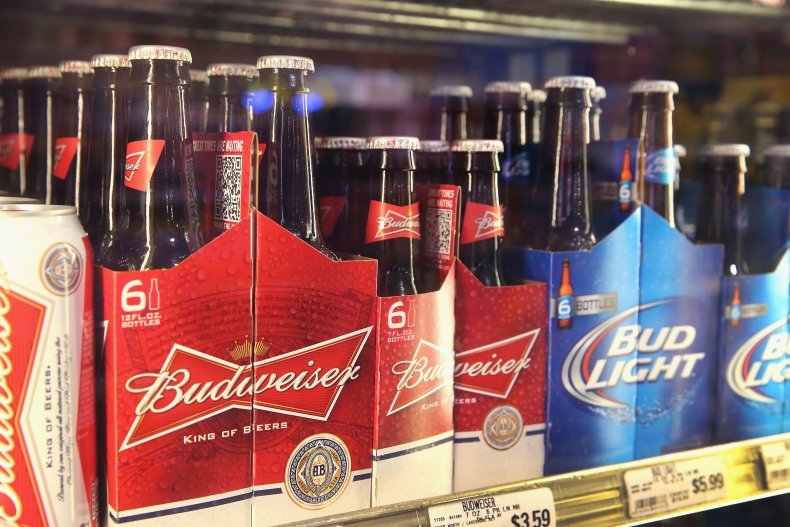 Anheuser-Busch Products on Sale in Chicago