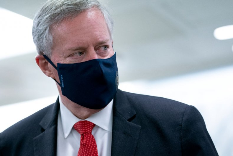 Ex-White House Chief of Staff Mark Meadows