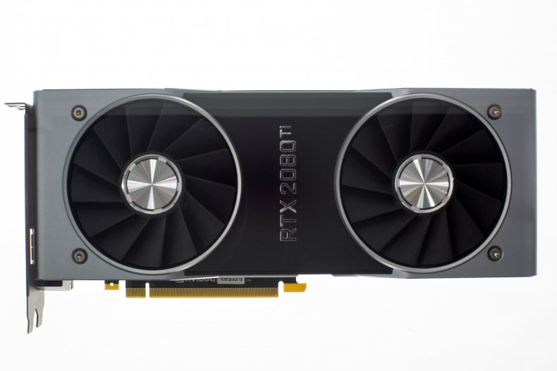Nvidia's GeForce RTX 2080 Ti graphics card.