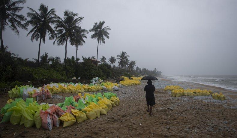 Plastic Pellets From Sri Lank Ship