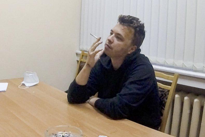 Dissident journalist Raman Pratasevich