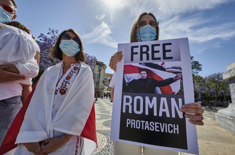 Belarus Protestors