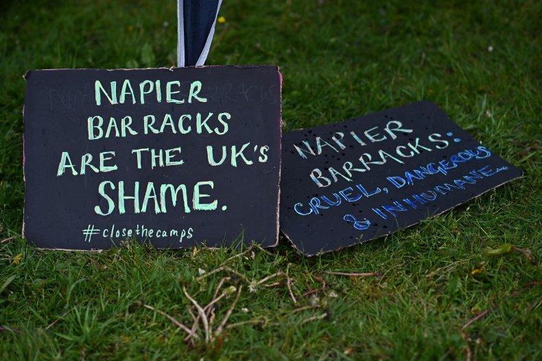 Close The Camps, Napier Barracks