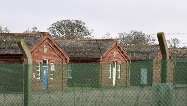 Napier Barracks Asylum UK
