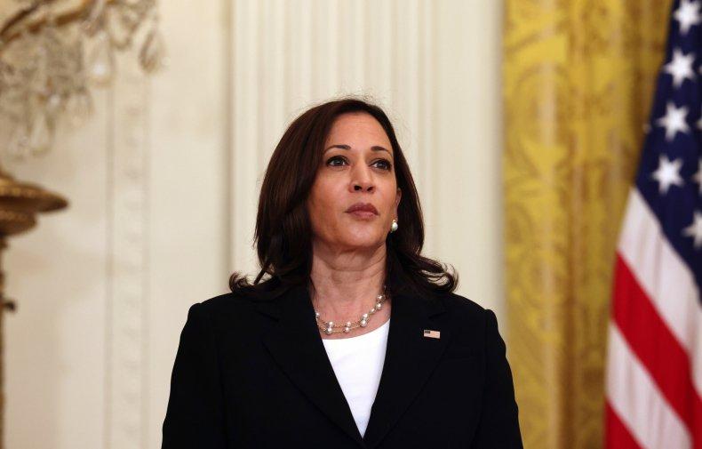 Kamala Harris at the White House