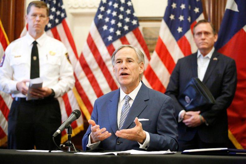 Greg Abbott Migrants Border Texas Arrest