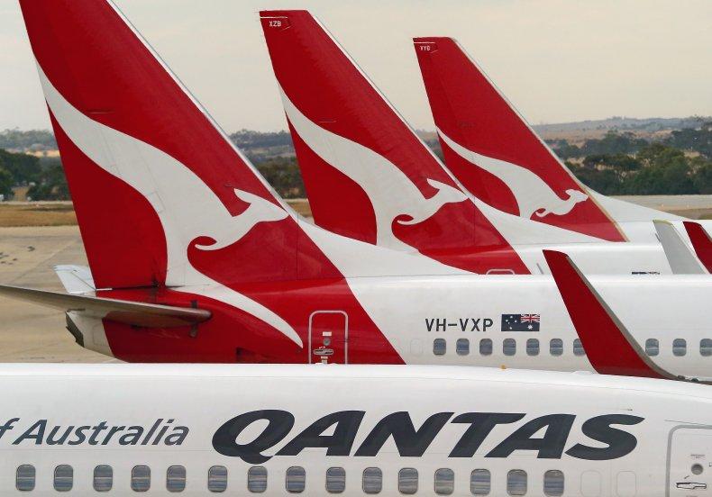 Qantas Planes in Melbourne