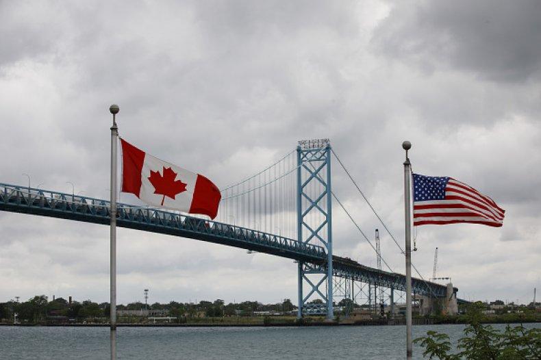 Canada U.S. Border Trudeau Coronavirus Closure