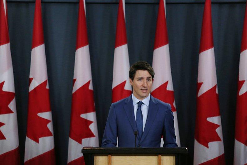 Justin Trudeau Canada Border Reopening Coronavirus Vaccine