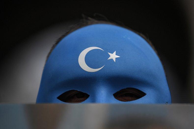 Uighur, East, Turkestan, protest, Istanbul, Turkey