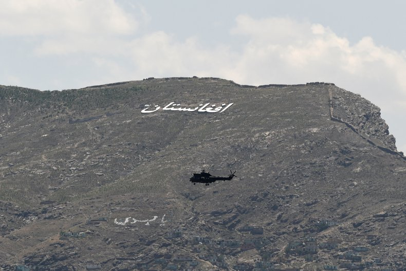 US, military, helicopter, fly, Afghanistan, hillside