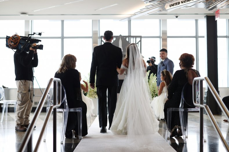 Man finds wife 'marrying' another person