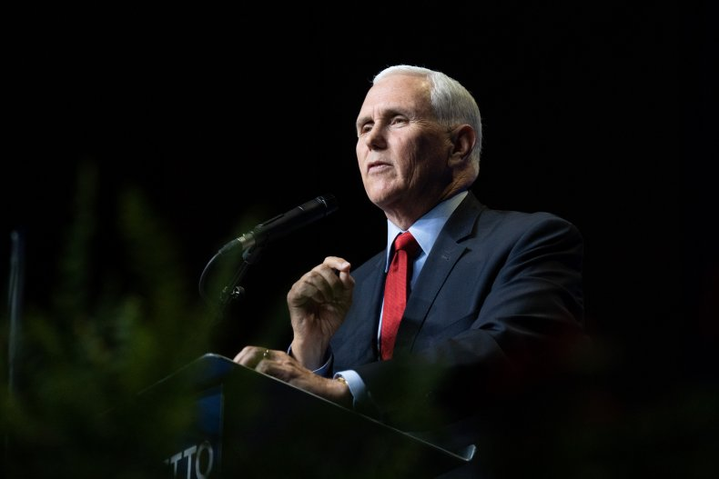 Mike Pence addresses New Hampshire GOP
