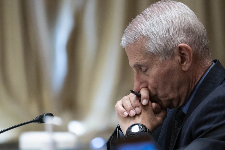 Dr. Anthony Fauci in May 2021