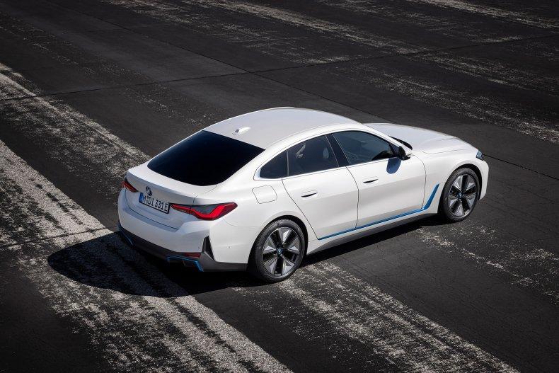 2022 BMW i4 back rear side